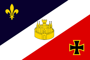 Flag of Verdun Commission by Schneerf