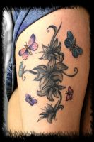 lilly's n butterflys by BMXNINJA