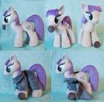 Maud Pie Plushie with magnetic Boulder and Dress by SnuggleFactory