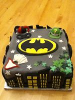 Batman Birthday Cake by Charley-Blue