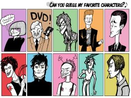 favourite characters by V-2schneider