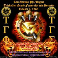 Tau Gamma Phi Banner by khingfiles