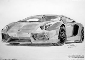 Lamborghini Aventador LP700-4 by SD1-art