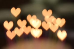 Heart bokeh 1 by do0dz-stock