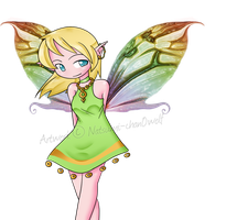 Fairy for a friend by Natsumi-chan0wolf