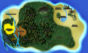 Creating The Island of Sheol by X-ArtisticCreations