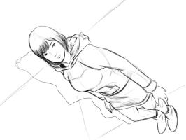 pose perspective study sketch by parasiticdrag