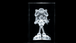 Sonic The Hedgehog: 10th Anniversary Crystal spin. by Cobra-Roll