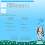 Tutorial Tables and Lists by MikariStar