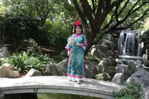 Chinese costume 216 by fa-stock