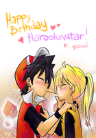 Happy Birthday harooluvstar by yassui
