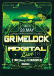 Poster design Grimelock by dronograph