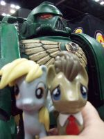 Derpy and Doctor at GenCon 2014 by SamKat