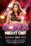 Girls Night Out Flyer Template by ayumadesign