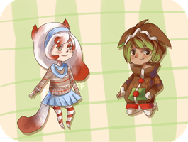 $8 Holiday Adoptables [OPEN] by YiamStuff