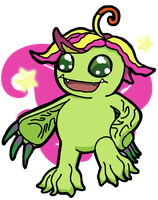 Palmon! by BeckoningHaunter