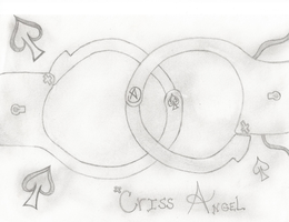 Criss Angel Handcuffs by KrazyKat22