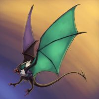 Noivern by Taddle