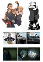 More Final Fantasy XV (Spoilers) by weremagnus