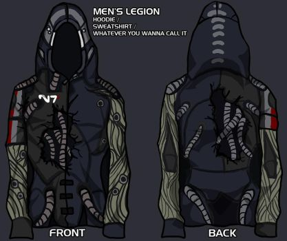 legion hoodie - give me your input! by lupodirosso