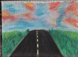 The road. by TheOmNom