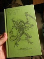 Notebook Cover (Tyranid Lictor) by warpspawn87