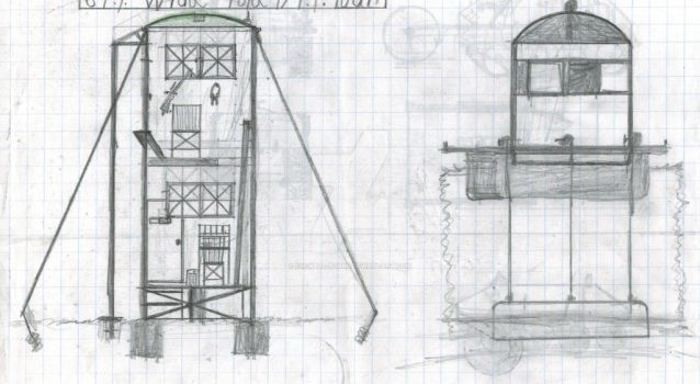 Just some out post's/ patrol tower's. by Sir-Well-Borne