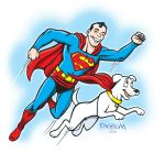 A Superboy and His Dog by mengblom