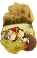 Over the Garden Wall by areyoshi