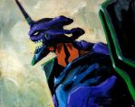 Unit 01 by LunglessArt