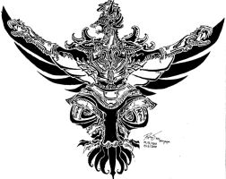 Tribal Garuda 3 by RoyCorleone