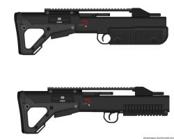 SI-Bull Pup SMG Receivers by Epicsunrise