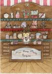 Mrs. Flurry Murry candyshop by Nadia-Domingos
