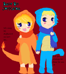 Charry And Squirtle by Soulofthenight663