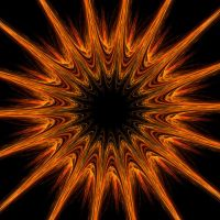 Here Comes the (Black Hole) Sun by DeTea