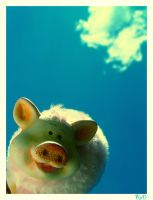 Flying Piglet by cande-knd