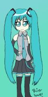 Miku Hatsune by Rin-luver