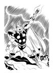 Inking Thor II (Buscema copy) by Almayer