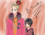 King and Queen of Hearts by Koneko387