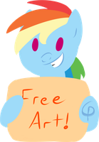 Free Art! - Everyone wins! Whatever you want!* by GarPolky