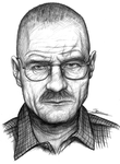 Walter White of Breaking Bad by Pen-Sive