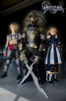 Warriors of the Dissidia by Wakaleo
