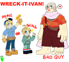 WRECK IT IVAN! by FrankenPup