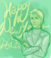 Happy New Year, bitches- Draco by bluestraggler