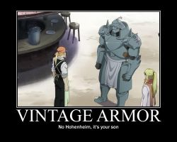FMA Demotivational: Vintage Armor by Angel-of-Alchemy-42