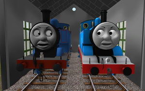 Railway Series meets Television Series: Thomas MK2 by Sergeant-Sunflower