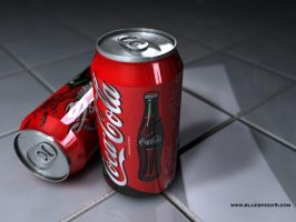 Coke Can 12oz. - WIP by bluespeed9