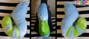 HowlOwl Fursuit Tail by TECHNlCOLOUR