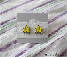 Super Star Earrings by alienaviary