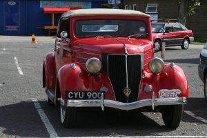 Red Hot Car by fragmeister